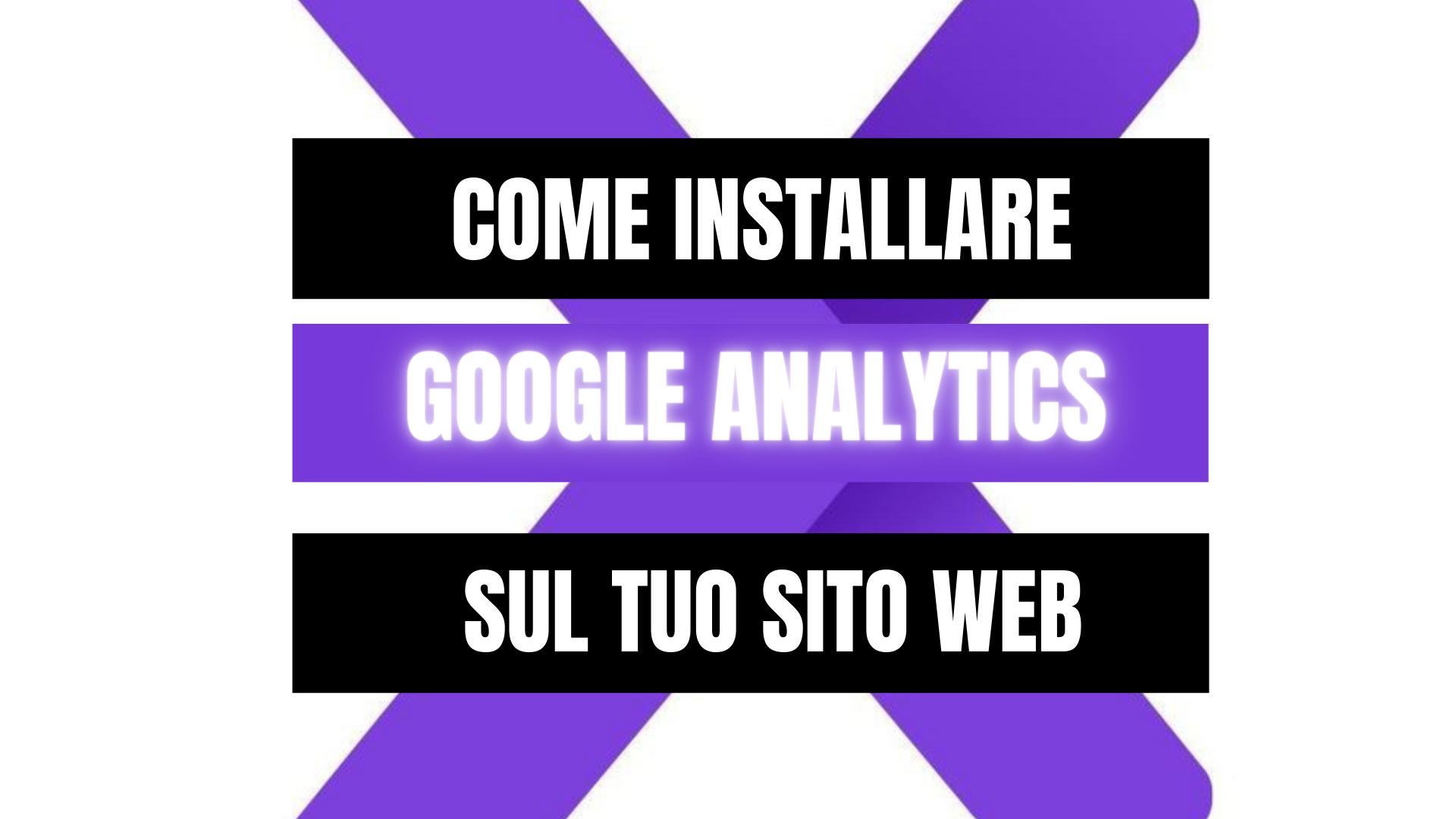 Peekaboox - Come installare Google Analytics sul tuo sito